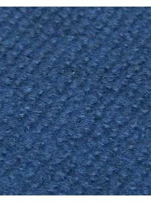 Profi Rips Teppichboden für Messen und Events mit Latex-Rücken dunkelblau meliert 100 % Polypropylen, 3 mm Stärke, Rollenbreite 2 m, Rollenlänge 50 m Messeteppich schnell und günstig, Farbcode: 4838