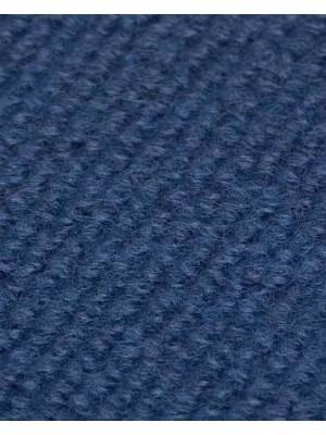 Profi Rips Teppichboden für Messen und Events mit Latex-Rücken dunkelblau 100 % Polypropylen, 3 mm Stärke, Rollenbreite 2 m, Rollenlänge 50 m Messeteppich schnell und günstig, Farbcode: 4850