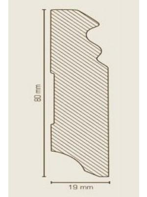 Südbrock Sockelleiste MDF Bronze Fussleiste, MDF-Kern mit Dekorfolie ummantelt