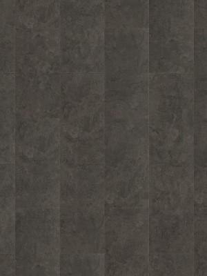HARO DISANO SmartAqua Rigid-Klick-Boden Piazza 4V Schiefer anth. Steinstruktur Designboden Blauer Engel 6,5 x 631 x 313 mm, mit integrierter Trittschalldämmung und authentischer 4V-Fuge, *** Lieferung ab 15 m² bzw. 350 EUR Warenwert ***, HstNr.: 538978