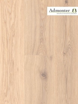 Admonter Floors Eiche superbianco, naturelle, braun gekittet, gebürstet 3-Schicht Parkett, Landhausdiele, geölt Nut & Feder 2000 x 158 x 15 mm, Nutzschicht 3,6 mm, geölt  *** Lieferung ab 15 m² bzw. 350 EUR Warenwert***