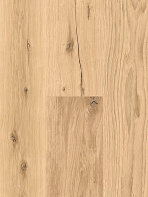 Admonter Floors Eiche weiß, rustic, schwarz gekittet, gebürstet 3-Schicht Parkett, Landhausdiele, geölt Nut & Feder 2000 x 158 x 15 mm, Nutzschicht 3,6 mm, geölt  *** Lieferung ab 15 m² bzw. 350 EUR Warenwert***