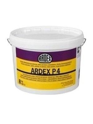Ardex Grundierung P4 Multifunktionsgrundierung 8 kg für saugfähige dichte Untergründe als Haftbrücke für Spachtelmassen Preis pro kg, PE Eimer 8 kg professioneller Multi-Vorstrich von Bauchemie-Hersteller Ardex HstNr: P4