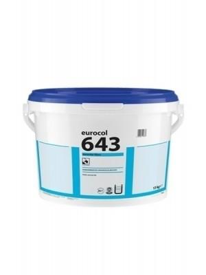 Forbo eurocol Kleber 643 Eurostar Fibre Faserarmierter Universalklebstoff EC1 Plus für Bodenbelag 13kg für Vinyl-, PVC-, CV-, LVT-, Linoleum-, Textil-, Gummi-, Elastomer - Bodenbelag Kleber günstig online kaufen, HstNr.: 110643
