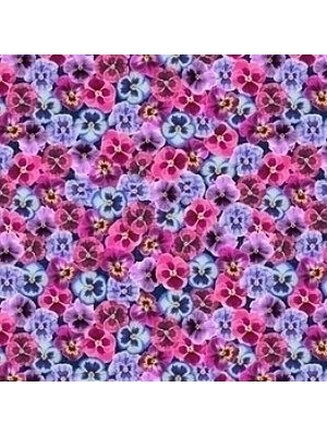 Forbo Flotex Teppichboden Vision Image Objekt-Boden Pink floral, Rollenbreite 2 m, Teppich-Bodenbelag günstig online kaufen von Teppich-Hersteller Forbo HstNr: i000410
