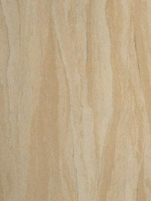 Sandsteintapete Königstein, aus Natursanden hergestellt, ist dekorativ und flexibel vom Material und in der Anwendung für Innenwände und Fassaden geeignet.
