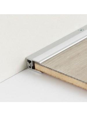 Parador Abschlussprofil Aluminium-Profil Silber für Laminat- und Vinyl-Designböden, Länge 1000 mm, günstig Profile kaufen von Bodenbelag-Hersteller Parador HstNr: 1740056 ***  Lieferbar nur in Verbindung mit Parador Bodenbelag-Bestellung ***