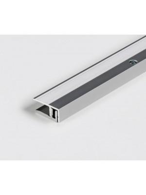 Parador Abschlussprofil Aluminium-Profil Silber für Parkettboden, Länge 1000 mm, günstig Profile kaufen von Bodenbelag-Hersteller Parador HstNr: 1739871 ***  Lieferbar nur in Verbindung mit Parador Bodenbelag-Bestellung ***