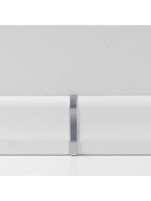 Parador Sockelleisten Ecken Übergangskappen Typ 2 für SL 18 Alu-Optik, lieferbar nur in Verbindung mit Sockelleisten-Bestellung VE = 2 Stk. im Päckchen günstig Leisten Sockel Profile online kaufen von Bodenbelag-Hersteller Parador HstNr: P1465358 *** nur lieferbar nur in Verbindung mit Sockelleisten-Bestellung ***