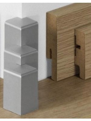 Parador Sockelleisten Ecken Alu-Optik, lieferbar nur in Verbindung mit Sockelleisten Bestellung