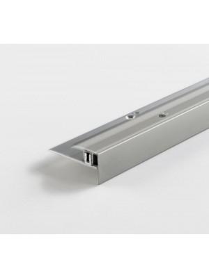 Parador Treppenkantenprofil Aluminium-Profil Silber für Parkettboden, Länge 2600 mm, günstig Profile online kaufen von Bodenbelag-Hersteller Parador HstNr: 1739874 ***  Lieferbar nur in Verbindung mit Parador Bodenbelag-Bestellung ***