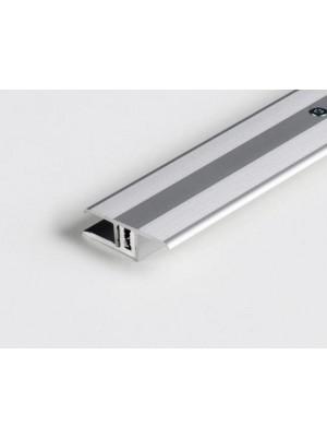 Parador Übergangsprofil Silber für Laminat und Design-Bodenbeläge