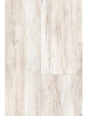 Parador Basic 5.3 Rigid Klick-Vinyl Pinie Skandinavisch Weiß SPC Designboden 1209 x 225 x 5,3 mm, mit integrierter Trittschalldämmung und umlaufender Fuge für Eleganz eines echten Dielenbodens, *** Lieferung ab 15 m² bzw. 350 EUR Warenwert ***, HstNr.: 1743009