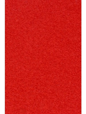 Profi Salsa Teppichboden für Messe rot mit Schutzfolie, Marine-Rücken