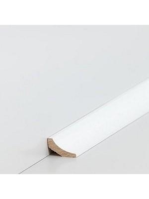 Südbrock Sockelleiste Massivholz Hohlkehlleiste, Raminersatzholz decked Weiß 20 x 20 mm, Länge 2 m, günstig Leisten Sockel Profile online kaufen von Hersteller Südbrock HstNr: sbs21431