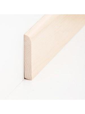 Südbrock Sockelleiste Massivholz Ahorn lackiert Massivholz Holz-Fussleiste, Oberkante abgerundet