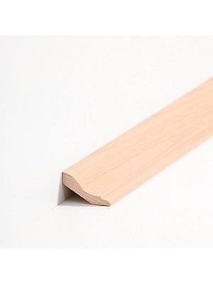 Südbrock Sockelleiste Hohlkehlleiste Buche lackiert Massivholz profiliert
