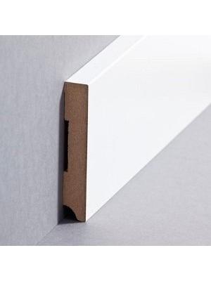Südbrock Sockelleiste weiß Fußleiste, MDF-Kern mit Folie ummantelt 13 x 80 mm
