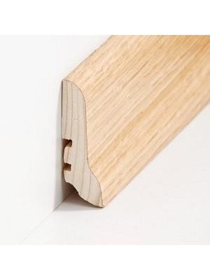 Südbrock Sockelleiste mit Echtholz furniertem Holzkern, Eiche lackiert 20 x 60 mm, Länge 2500 mm, günstig Leisten Sockel Profile online kaufen von Hersteller Südbrock HstNr: sbs22601