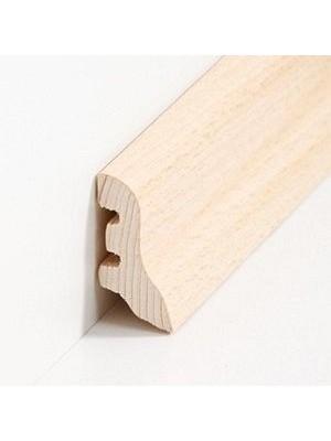 Südbrock Sockelleiste Holzkern Kiefer lackiert Holzkern mit Echtholz furniert