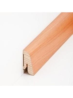 Südbrock Sockelleiste mit Echtfolz furniertem Holzkern, Kirsche lackiert 19 x 38 mm, Länge 2500 mm, günstig Leisten Sockel Profile online kaufen von Hersteller Südbrock HstNr: sbs193810