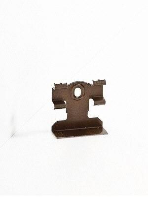 Südbrock Befestigungsclip aus Metall für Sockelleisten