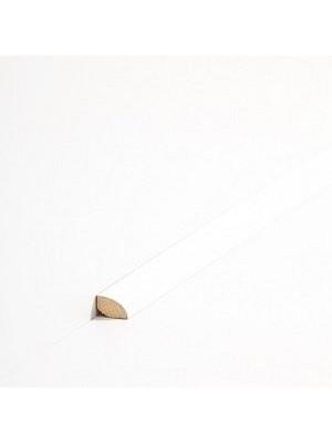 Südbrock Sockelleiste Viertelstab Massivholz Viertelstab Leiste, Abachi decked Weiß 12 x 12 mm, Länge 2 m, günstig Leisten Sockel Profile online kaufen von Hersteller Südbrock HstNr: sbs1231