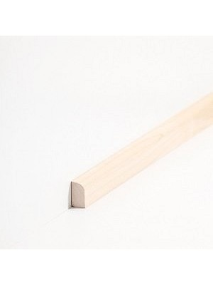 Südbrock Sockelleiste Vorsatzleiste Ahorn lackiert aus Massivholz