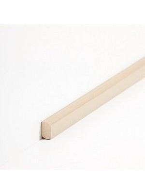 Südbrock Sockelleiste Vorsatzleiste Beige aus Massivholz