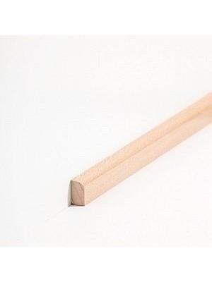Südbrock Sockelleiste Vorsatz Massivholz Vorsatzleisten,  Buche gedämpft lackiert 8 x 22 mm, Länge 2 m, günstig Leisten Sockel Profile online kaufen von Hersteller Südbrock HstNr: sbs82222