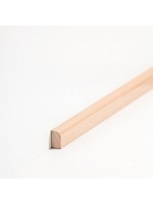 Südbrock Sockelleiste Vorsatzleiste Buche gedämpft lackiert aus Massivholz