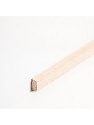 Südbrock Sockelleiste Vorsatzleiste Buche lackiert aus Massivholz