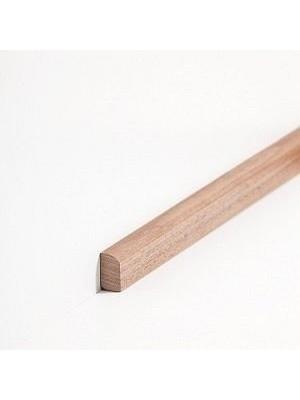 Südbrock Sockelleiste Vorsatz Massivholz Vorsatzleisten,  Nussbaum lackiert 8 x 22 mm, Länge 2 m, günstig Leisten Sockel Profile online kaufen von Hersteller Südbrock HstNr: sbs82223