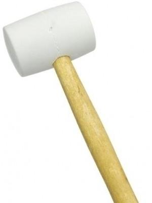 Wineo Werkzeug Gummihammer weiß günstig online Zubehör kaufen von Design-Belag Hersteller Wineo HstNr: 20021004 *** Versand nur in Verbindung mit Bodenbelag Bestellung des Herstellers ***