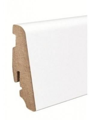 Haro Sockelleiste weiß Parkett Echtholz Fußbodenleiste