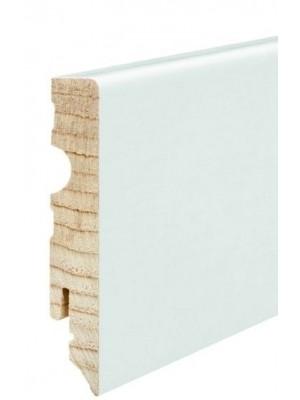 Haro Sockelleiste Haro Echtholz weiß 15 x 80 x 2400 mm, günstig, HstNr: 409836 *** lieferbar nur zusammen mit Bodenbelag-Bestellung von diesem Hersteller bzw. über EUR 250 Warenwert ***