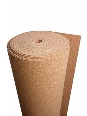 Wicanders Dämmunterlage aus Kork, Trittschalldämmung aus 2 mm Stärkeem Kork als Rollenware als Unterlage unter schwimmend verlegte Bodenbeläge. Lieferumfang: Rolle 10 x 1 m = 10 m² --- lieferbar nur in Verbindung mit Bodenbelag-Bestellung ---