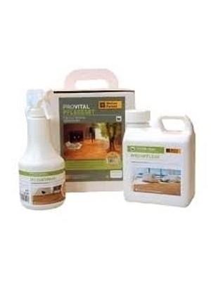 Weitzer ProVital Pflege-Set ProVital besteht aus einem Dose Ölspray, Wischpflege, Tüchern und Polierpad. Anwendung auf Weitzer ProVital Oberflächen des Weitzer Parkett. Verbrauch: 5 ml pr m², HstNr: 29420