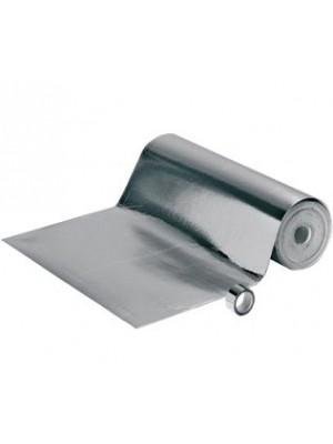 Weitzer Dämmunterlage Profi-Parkett Aqua-Stop Aluminiumdampfsperre, lieferbar nur in Verbindung mit Weitzer Bodenbelag Rolle 100 cm Breit, 3 mm Stärke = 20 m², HstNr: 13771
