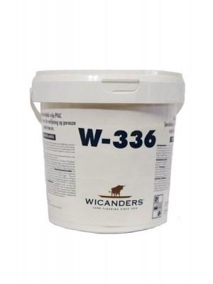 Wicanders Kleber Dispersionskleber (W-336) 12 kg lieferbar nur in Verbindung mit Wicanders Bodenebelag 12 kg Eimer, Verbrauch ca. 350 g pro m² professionell fixieren von Bodenbelag-Hersteller Wicanders HstNr: CW02025