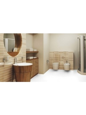 Wineo Purline Eco Bioboden Rolle Residenz Pure White Rollenbreite 2 m, 2,5 mm Stärke, zur schwimmenden Verlegung oder Verklebung, *** 8 lfdm (16m²) Mindestbestellmenge, günstig Bio-Designboden online kaufen von Design-Belag Hersteller Wineo HstNr: PB00025RE