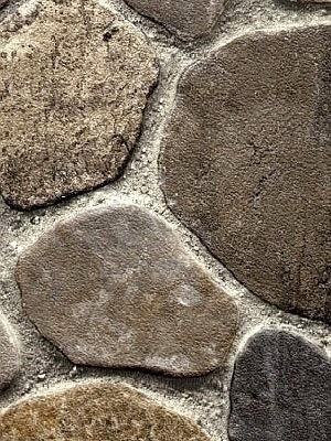 Profi Messe-Boden Stone Grip CV-Belag Marktstein grau PVC-Boden rutschhemmend R10