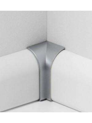 Parador Sockelleisten Ecken Alu-Optik, Innenecken Typ 2 für SL 2