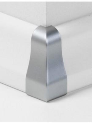 Parador Sockelleisten Ecken Alu-Optik, Außenecken Typ 2 für SL 4