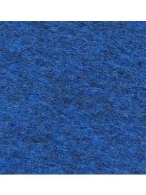 Profi Olymp Teppichboden für Messe und Events dunkelblau meliert mit Precoat-Rücken