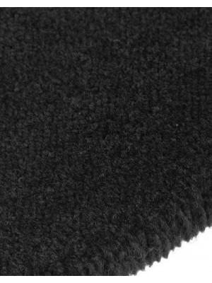 edelFORM Noblesse Teppichboden gut und günstig Kräuselvelours schwarz 100 % Polypropylen, Rollenbreite 4 m und 5 m, Rollenlänge 25 m Teppichboden günstig online kaufen von Bodenbelag-Marke edelFORM HstNr: 28141