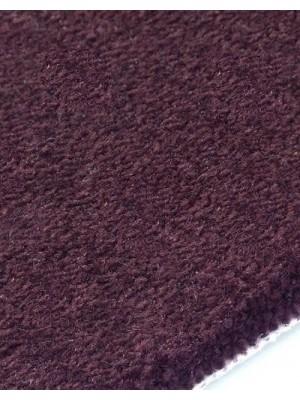 edelFORM Noblesse Teppichboden gut und günstig Kräuselvelours dunkelviolette 100 % Polypropylen, Rollenbreite 4 m und 5 m, Rollenlänge 25 m Teppichboden günstig online kaufen von Bodenbelag-Marke edelFORM HstNr: 28879