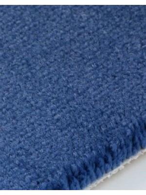 edelFORM Noblesse Teppichboden gut und günstig Kräuselvelours blau 100 % Polypropylen, Rollenbreite 4 m und 5 m, Rollenlänge 25 m Teppichboden günstig online kaufen von Bodenbelag-Marke edelFORM HstNr: 28885