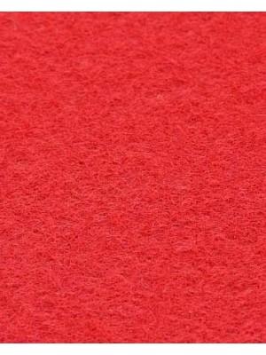 Profi Isola Teppichboden für Messen und Events mit Latex-Rücken hellrot 100 % Polypropylen, 3 mm Stärke, Rollenbreite 2 m, Rollenlänge 50 m Messeteppich schnell und günstig, Farbcode: 3025