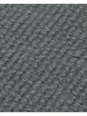 Profi Rips Teppichboden für Messen und Events mit Latex-Rücken mausgrau 100 % Polypropylen, 3 mm Stärke, Rollenbreite 2 m, Rollenlänge 50 m Messeteppich schnell und günstig, Farbcode: 4844